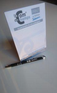 bloc note - stylo